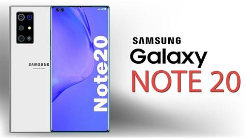 Thiết kế màn hình Galaxy Note 20+