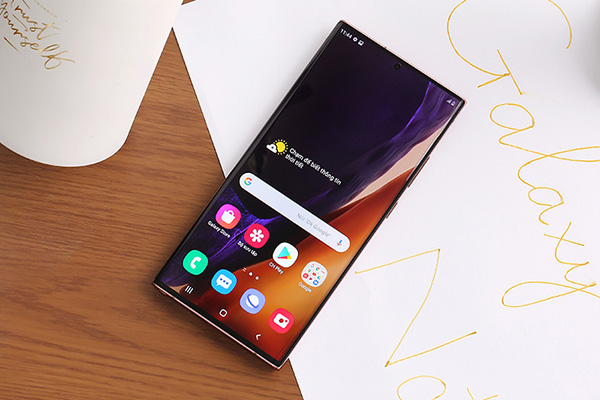 Galaxy Note 20 Ultra - smartphone cao cấp dòng Note của Samsung